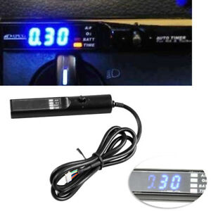 Universal-Turbo-Timer-Fit-For-NA-amp-Turbo-Black-Pen-Control-Blue-LED-Unit-Nitrous