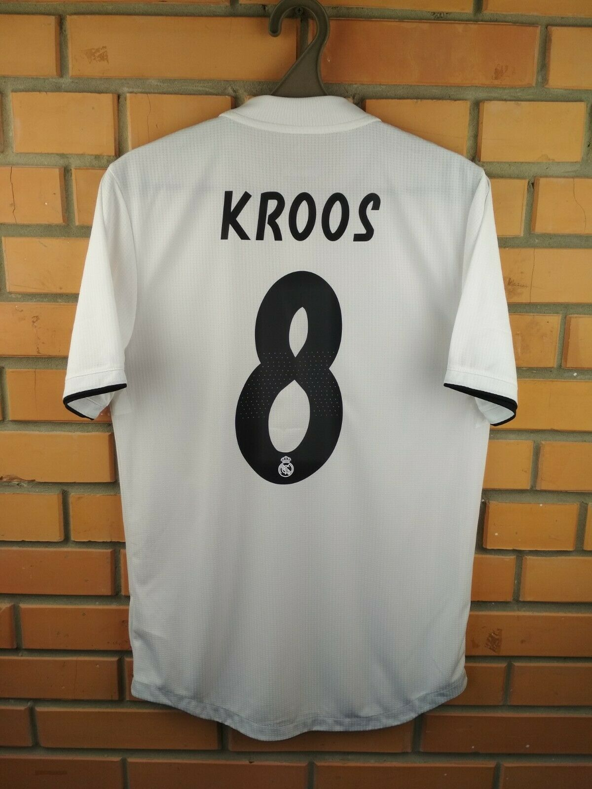 Kroos Real Madrid player issue jersey smtutti 2019 home shirt soccer CG0561 Adidas