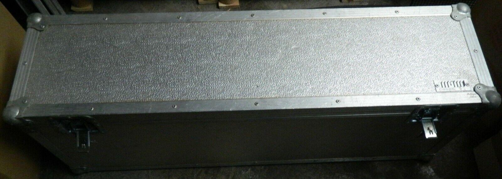 MGM ALU Ständercase,2 Fächer,Kabelcase,Zubehörcase,innen  102x35x11 9cm (Nr.6)