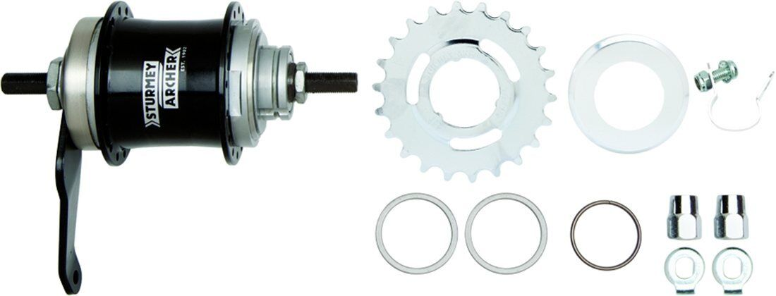 Sturmey Archer S2C DUOMATIC 2spd Internal Gear Hub With COASTER  BRAKE  select from the newest brands like