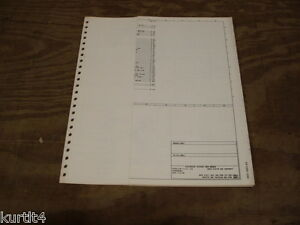 1977    Ford    F600 F700    F800    truck    wiring       diagram    schematic SHEET service manual   eBay
