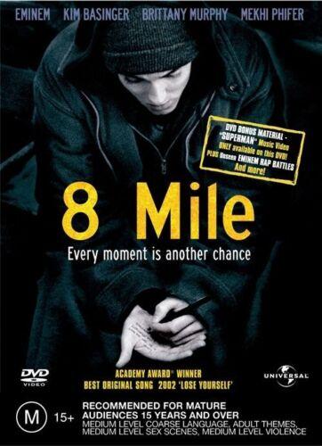 1 of 1 - 8 Mile (DVD, 2003) Eminem, Kim Basinger, Brittany Murphy