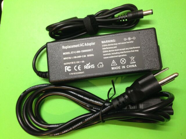 90W AC adapter charger cord for Toshiba PS181C-00WZX PS181C-OOWZX ship fm Canada