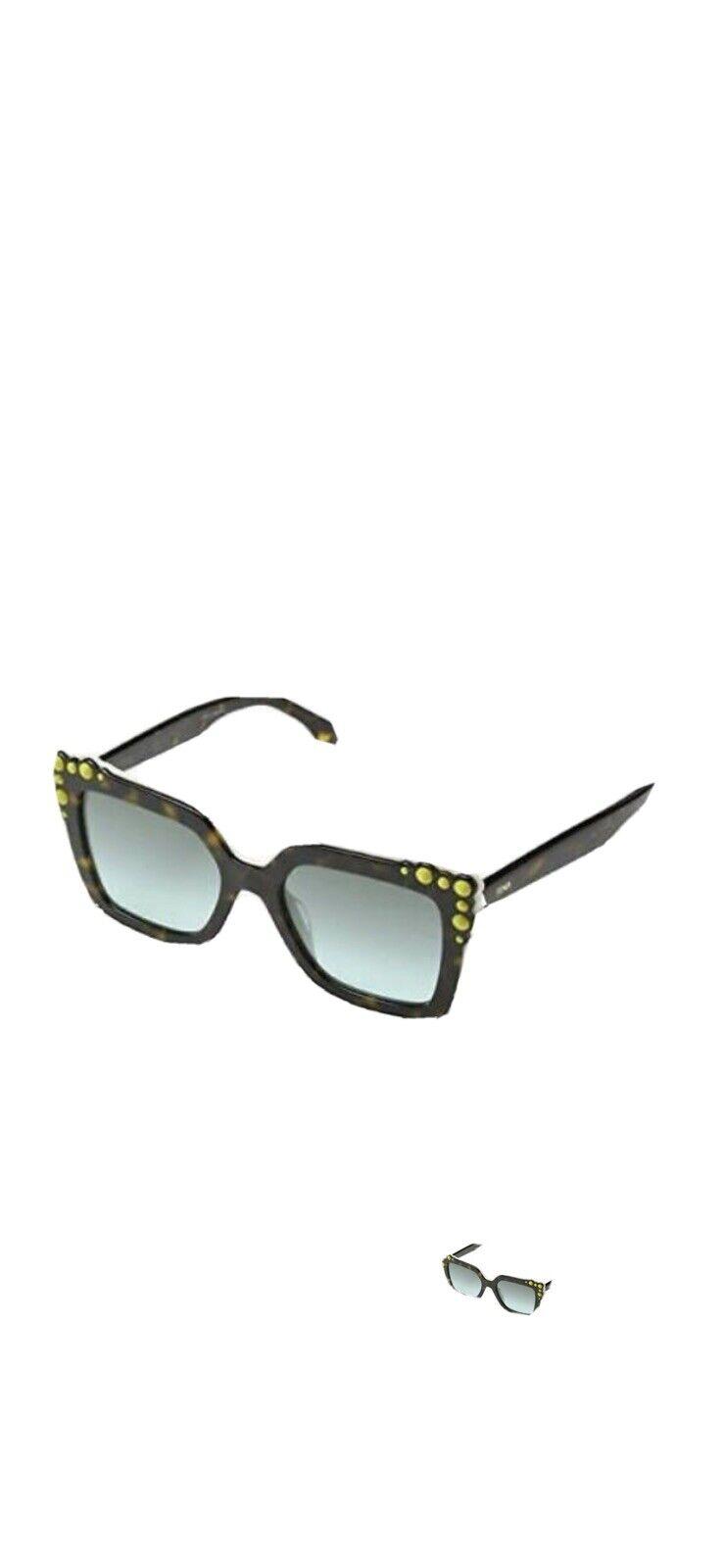FENDI Sunglasses Havana Stones Women Classy