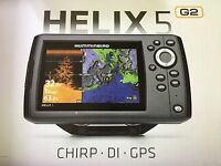 In Box Humminbird Helix 5 G2 Di Gps Fish Finder Combo 410220-1
