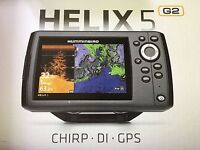 In Box Humminbird Helix 5 G2 Di Gps Fish Finder Combo 410220-1