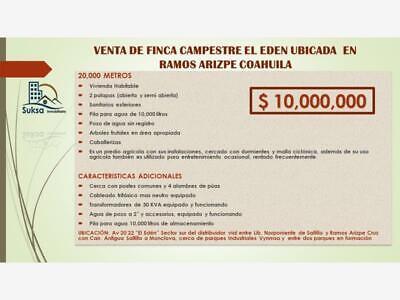 Finca/Rancho en Venta en EL EDEN