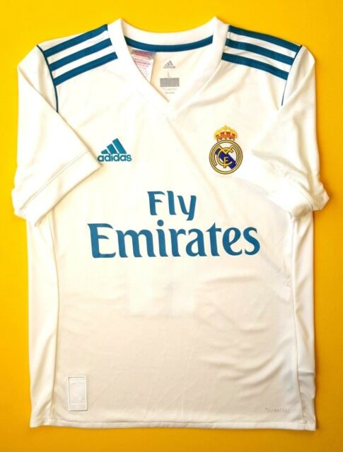 380ea4c34 Real Madrid kids jersey 2017 2018 home shirt 13-14 years B31111 Adidas 4.5