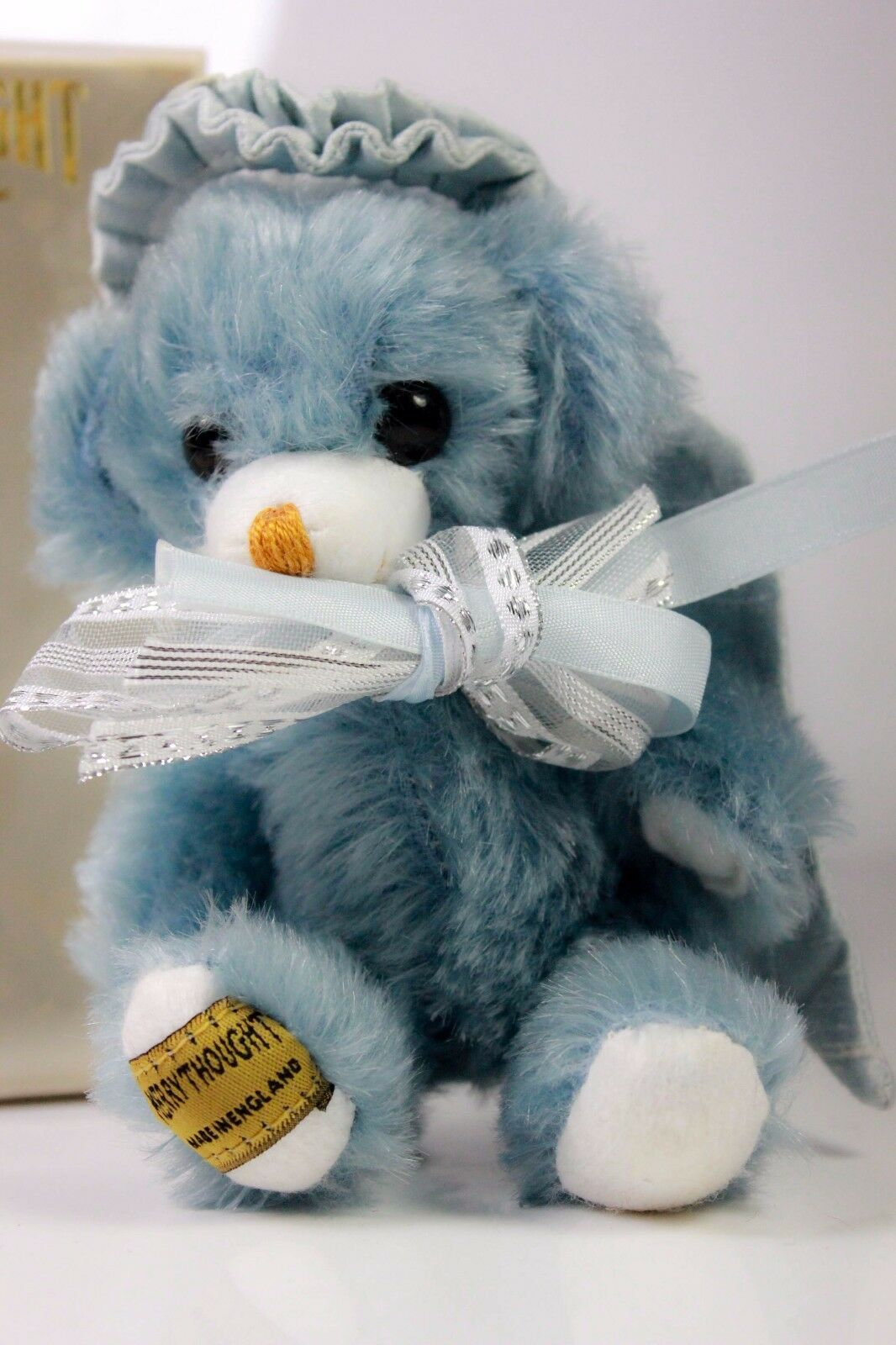VINTAGE MERRYTHOUGHT MERRYTHOUGHT MERRYTHOUGHT MOHAIR CHEEKY blu ANGEL orso 2564d9