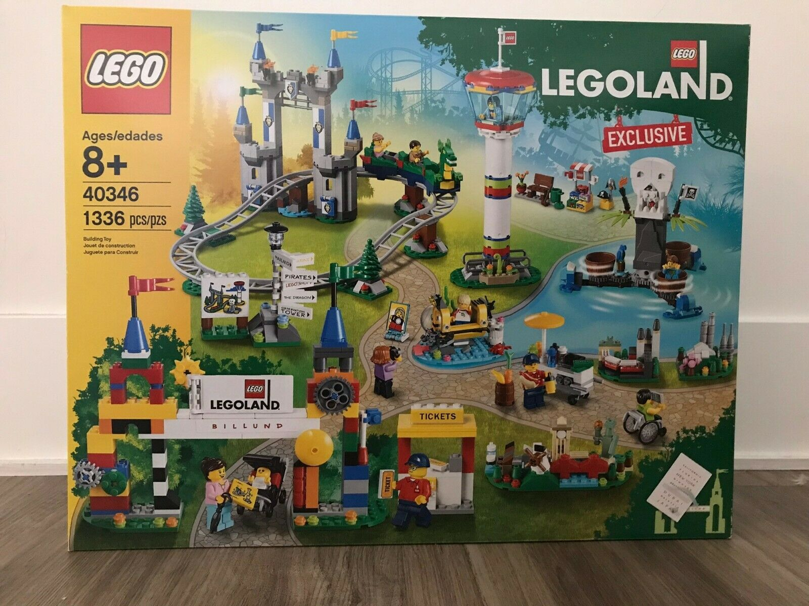 Lego 40346 LEGOLe Exclusive 1336 pcs BRe nuovo FACTORY SEALED 2019 IN-He