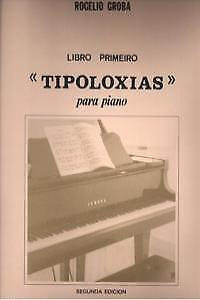 Tipoloxias Para Piano, Libro 1. Nuevo. Nacional Urgente/internac. Económico