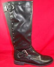 NEW Women's PINK & PEPPER JR ZOOMIN Black Knee High Heels Dress Boots sz 8