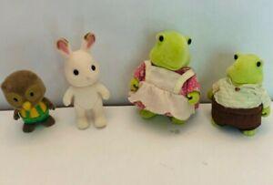 Flocked-Animal-Toy-Set-Turtles-Bunny-Rabbit-Owl-For-Pretend-Play-Cute-Fuzzy