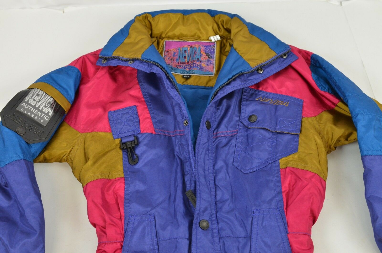 Nevica Boy's Snowsuit Junior 10 Years Outdoor Winter Snow Warm colorful Retro