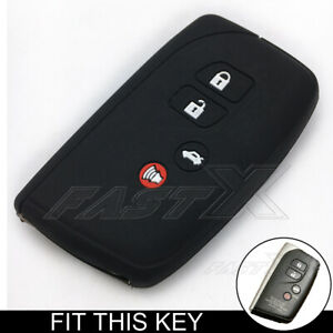 Car Key Fob Cover for Toyota Lexus Silicone Rubber Case
