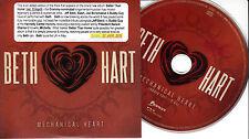 BETH HART Mechanical Heart 2015 UK 1-trk promo CD