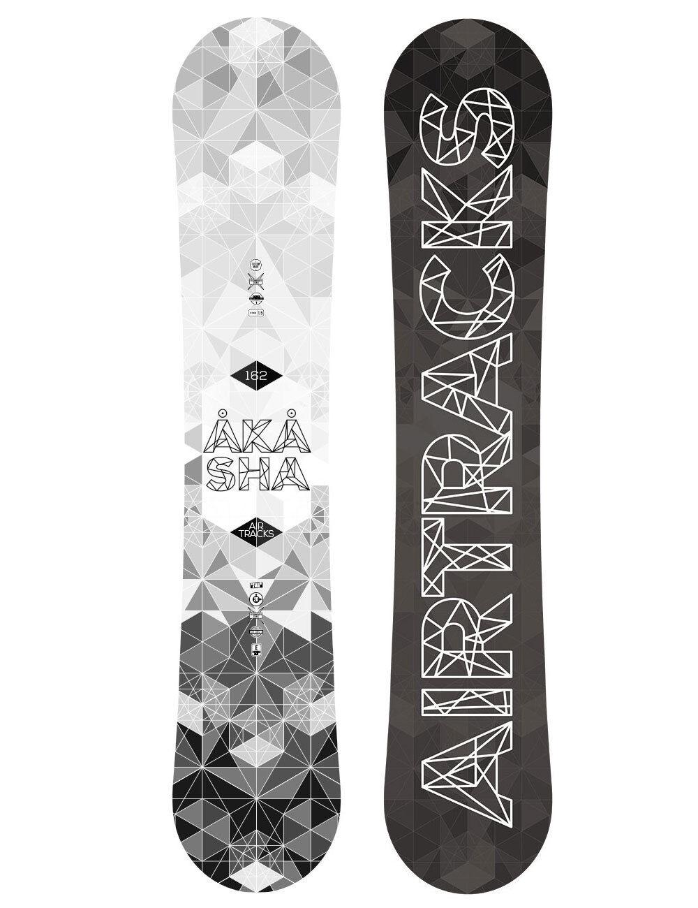 Set de Snowboard Airtracks Akasha Large Large Akasha + Fixation Étoile + Bottes + Sb Sac 152 9993a6