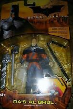 Batman Begins Ras Al Ghul Black Cape Variant C9 Mattel 2005 Action Figure
