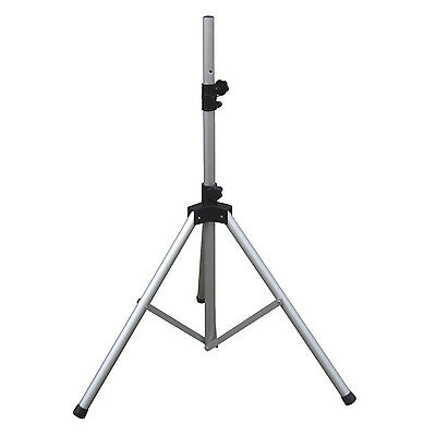 Genuine Soundlab 35mm Adjustable Heavy Duty Silver Aluminium Pa Speaker Stand Speciale Zomerverkoop