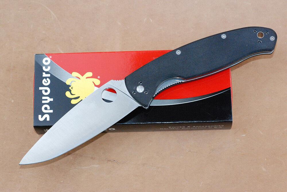 SPYDERCO RESILIENCE Taschenmesser scharfes kraftvolles Messer mit Gürtelclip