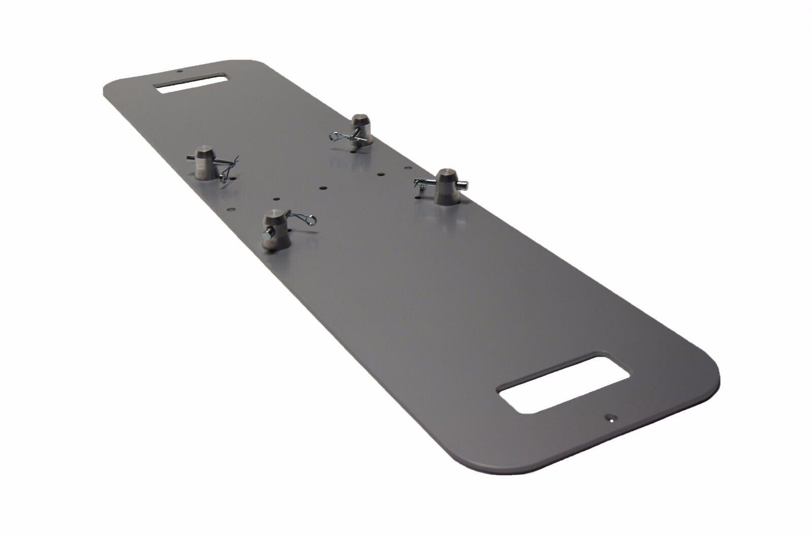 12 X 48 Silber Steel Base Plate passt zu Global Truss F23 F24 F33, F34 SQ und anderen