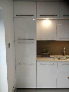 Ikea Ringhult Kitchen Cabinet Drawer Doors White High Gloss 600w X 800h Ebay