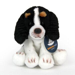 Stofftier-kleiner-Cavalier-King-Charles-Spaniel-Hund-Plueschtier-H-ca-12-cm