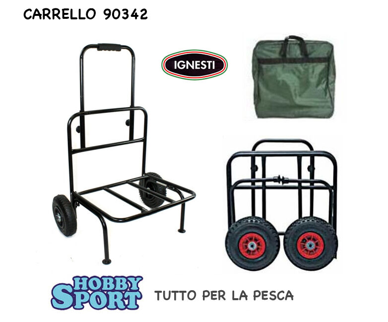 CARRELLO CON RUOTE   MOD. 90342 IGNESTI
