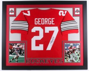 Image is loading Eddie-George-Signed-Ohio-State-Buckeyes-35x43-Custom- 62f83fa1a