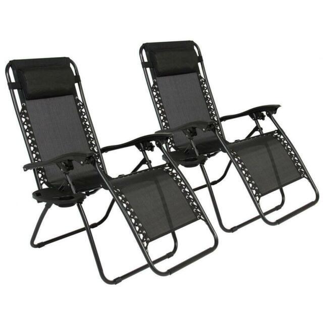 Lounge Chair Zero Gravity Extra Wide