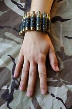 BULLET BRACELET - METAL - GENUINE - PUNK - JEWELLERY- MILITARY