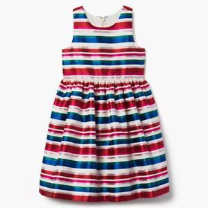 NWT Gymboree Striped Jacquard Dress Christmas Girls Holiday Many Sizes