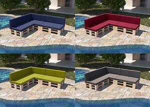 Garten-Palettenkissen-Palettencouch-Palettenmoebel-Palettenauflage-Sofa-Outdoor