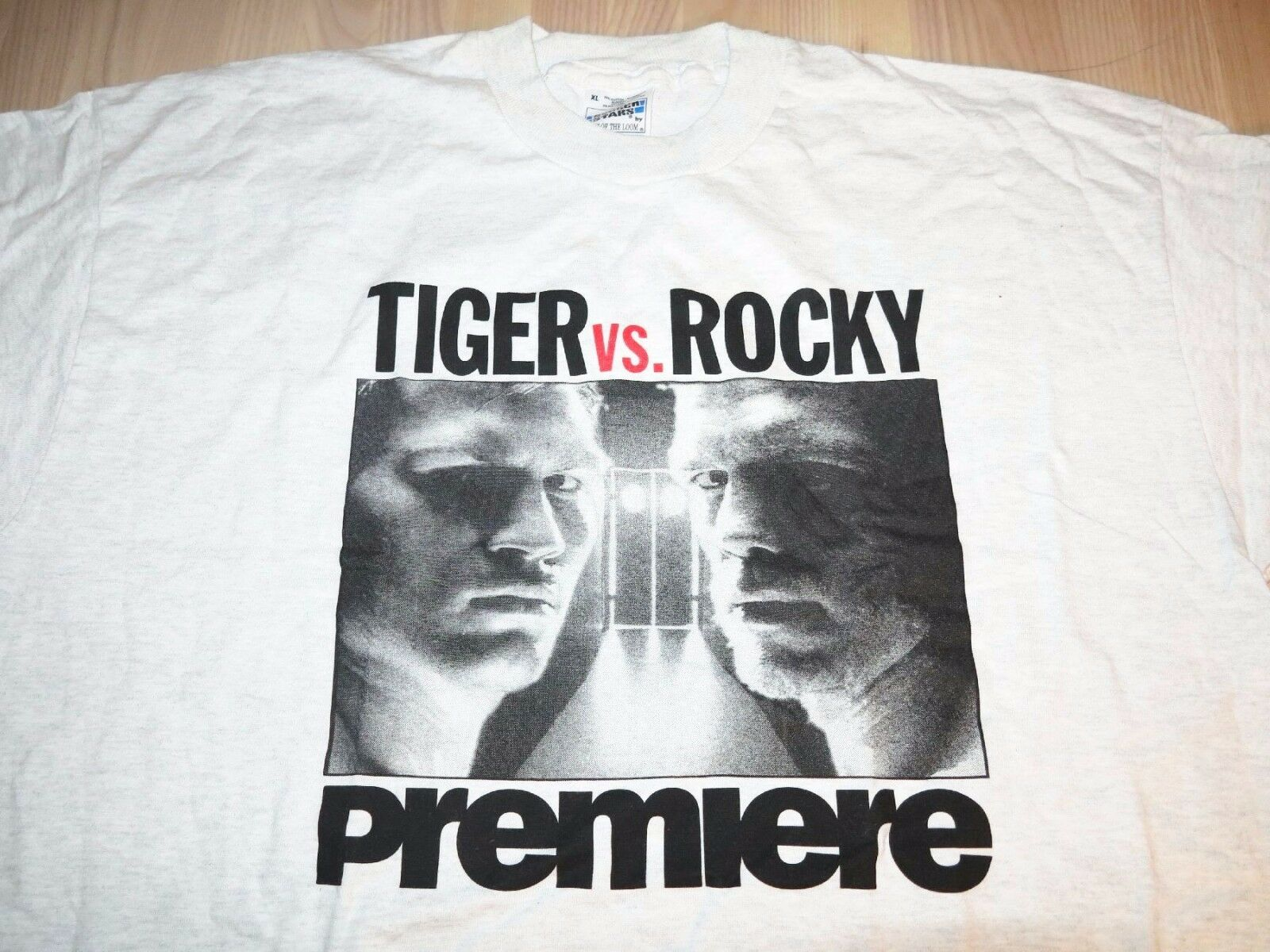 Graciano Rocchigiani vs. Dariusz michalczewski fight maglietta 1996 MINT T-SHIRT NUOVO MINT 1996 35817e
