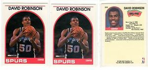 1X-DAVID-ROBINSON-1989-90-Hoops-310-RC-Rookie-NMMT-Lots-Available