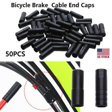 12X Metal Bicycle Brake Gear Cable Wire Outer End Caps Crimps Tips Ferrules SE