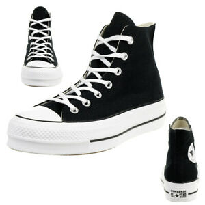 Details zu Converse C Taylor All Star LIFT HI Chuck plateau Sneaker canvas black 560845C