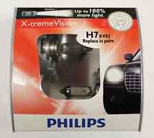 Genuine Philips X-treme Vision 100% Brighter H7 55W Halogen Bulb Made in Germany