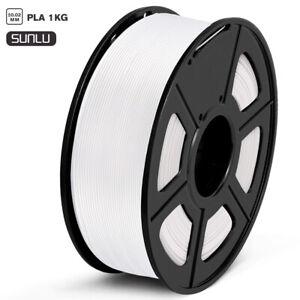 3D-Printer-Filament-1-75mm-PLA-1kg-2-2lb-multiple-Color-Black-DIY-For-SUNLU
