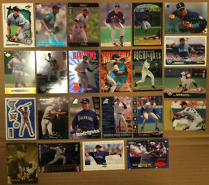 ALEX-RODRIGUEZ-LOT-of-40-Rookie-RC-insert-card-NM-Arod-Seattle-NY-Yankees-1995