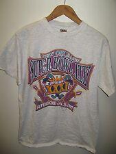 1997 Super Bowl Tee - Vintage New Orleans LA Superdome NFL Game USA T Shirt M/L