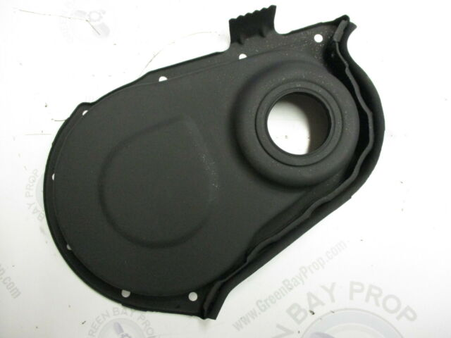 14050642 OMC Chevy Stringer V6 V8 Timing Chain Cover Crankshaft Top