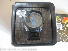 RAINBOW DASH WATCH AND COLLECTORS TIN MY LITTLE PONY
