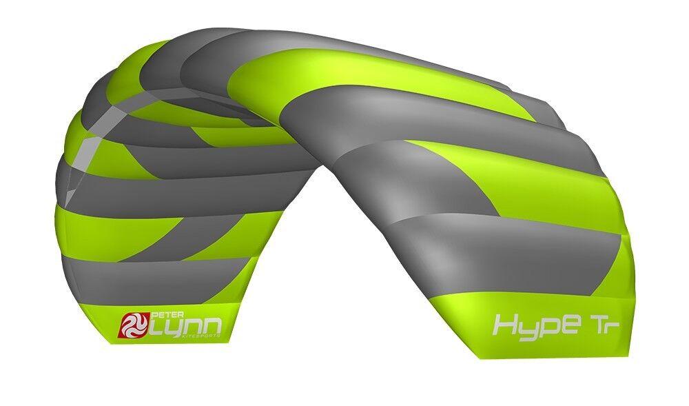 Peter Lynn Hype 2.6m 2019 Two Line Kitesurf Trainer Power Kite With Control Bar