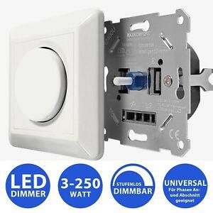 LED Dimmer 0-10V Drehdimmer mit Fernbedienung dimmbar Schalter Helligkeitsregler