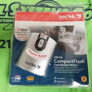 NEW-SANDISK-IMAGEMATE-SDDR-92-A15-USB-2-0-COMPACT-FLASH-I-II-CARD-READER-WRITER