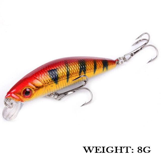 101pc Fishing Lure Kit Spinnerbait Fish Hooks Bass Fishing Lures Bait Tackle Box