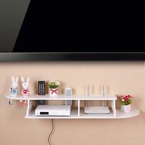 Cube afficher titre HIFI Montage étagère DVD sur Box Unité étagères Blanc Mural en bois Sky le Wifi Flottant d'origine Détails 0mOvnwNPy8