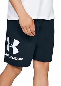 NWT Mens Under Armour Sportstyle Charged Cotton Graphic Shorts XXL//XL//Large