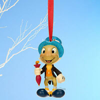 Jiminy Cricket Pinocchio Disney Store 2014 Sketchbook Christmas Ornament